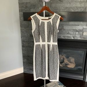BCBG lace detailing pencil dress size 2